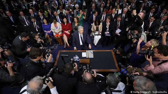 Washington Senat Bestätigungsverfahren Neil Gorsuch Präsident Oberste Gerichtshof (Getty Images/C. Somodevilla)