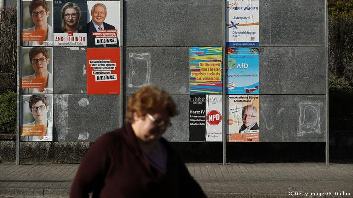 Wahlkampf Saarland 2017 (Getty Images/S. Gallup)