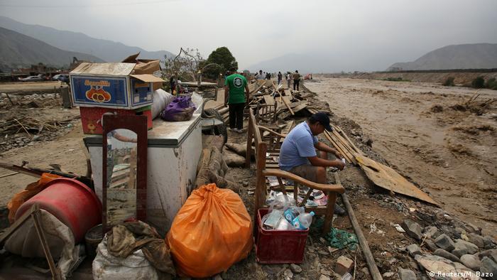 Peru Überschwemmungen in Huachipa