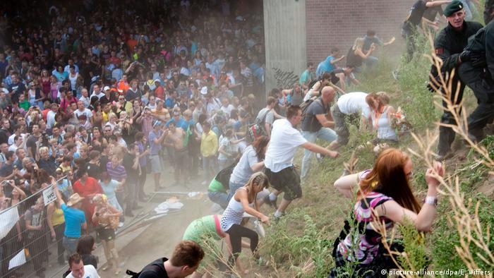 Массовая давка на Loveparade в Дуйсбурге, 2010 год