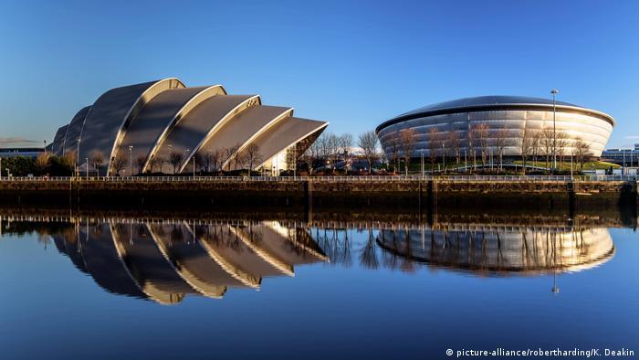 Schottland Architektur Armadillo und Hydro in Glasgow (picture-alliance/robertharding/K. Deakin)