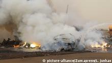 Südsudan Absturz Passagierflugzeug