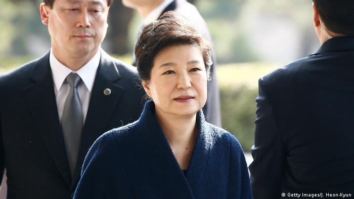 Südkorea Staatsanwaltschaft befragt Park Geun-hye (Getty Images/J. Heon-Kyun)