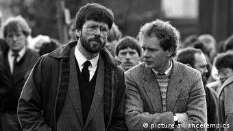 Nordirland 1987, Martin McGuinness (picture-alliance/empics)