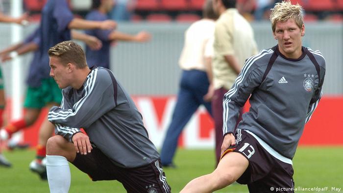Deutsche Nationalmannschaft 2004, Bastian Schweinsteiger (picture-alliance/dpa/F. May)