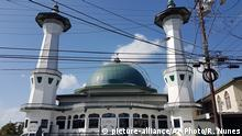 09.02.2017*****This Feb. 9, 2017 photo, shows the ASJA Jammah Masjid Mosque in Two Princesses Town, Trinidad and Tobago. Security officials and terrorism experts believe that as many as 125 fighters and their relatives have traveled from Trinidad and Tobago to Turkey and on to IS-controlled areas over the last four years, making it the largest per-capita source of IS recruits in the Western Hemisphere.(AP Photo/Ricardo Nunes) |