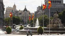 Spanien Plaza de Cibeles in Madrid