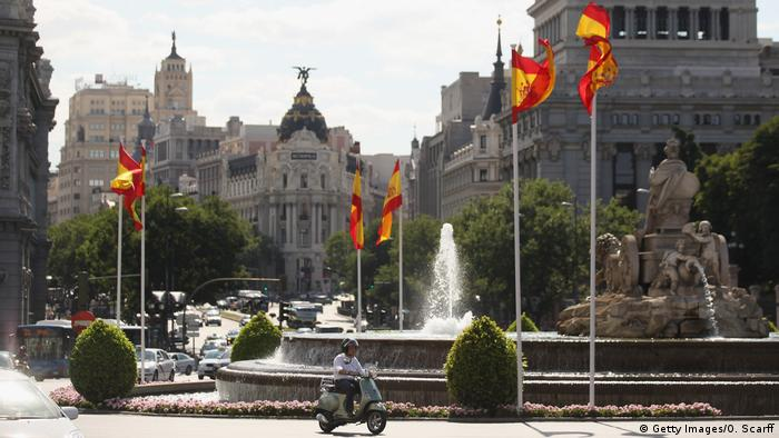 Spanien Plaza de Cibeles in Madrid