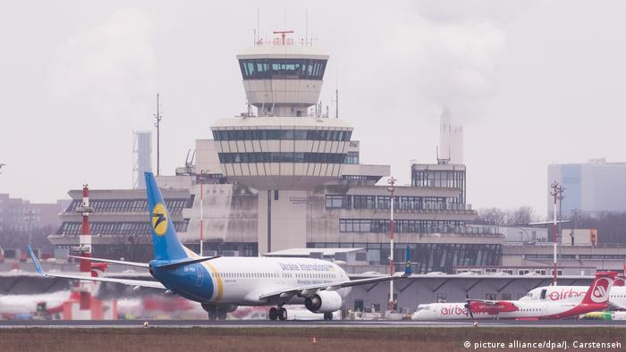 Planes at Tegel Airport