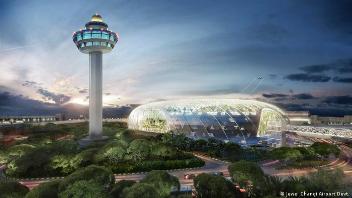 Singapur Jewel Changi Airport (Jewel Changi Airport Devt.)