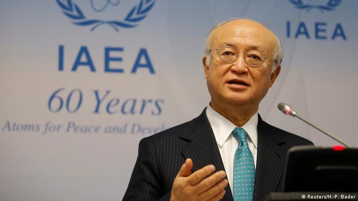 IAEA Direktor Yukiya Amano (Reuters/H.-P. Bader)