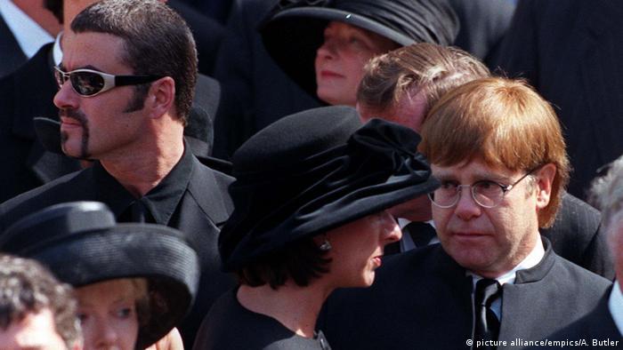 На похороні принцеси Діани