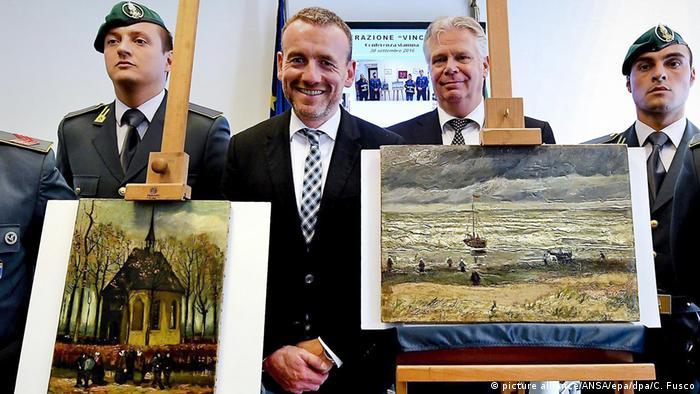 Van Gogh-Gemälde kehren nach Amsterdam zurück Axel Ruger Direktor des Amsterdamer Van Gogh Museums