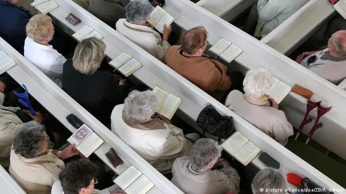 Deutschland Gottesdienst beim Rogate-Frauentreffen in Sachsen