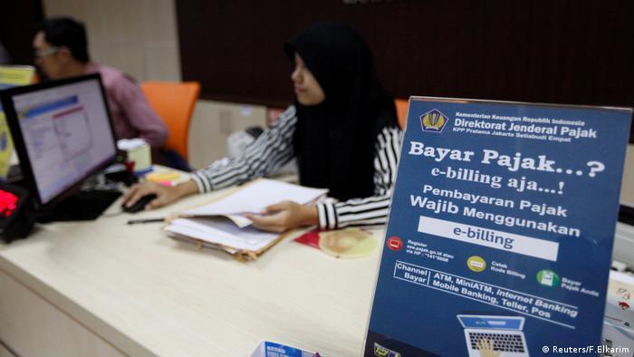 Indonesien Jakarta Büro Finanzamt