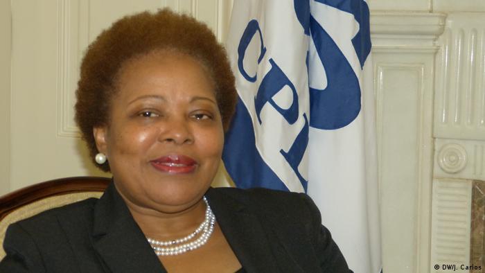 Maria do Carmo Silveira, secretária executiva da CPLP