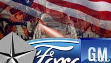 General Motors, Crysler und Ford DW-Grafik: Peter Steinmetz