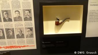 Stalin's pipe at the Museum of the Second World War