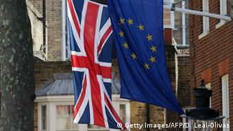 Symbolbild Brexit (Getty Images/AFP/D. Leal-Olivas)