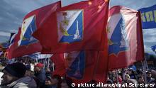 Sevastopol flags, Crimea (picture alliance/dpa/I.Sekretarev)