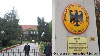 H πρεσβεία της Γερμανίας στην Άγκυρα