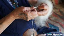 Tattoos bosnischer Kroatinnen (DW/M.Martinovic)