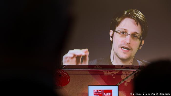 Edward Snowden en vivo, este 21 de marzo de 2017 en la CeBit de Hannover