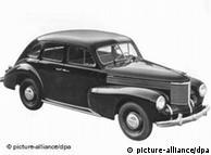 Opel Capitán, de 1950.