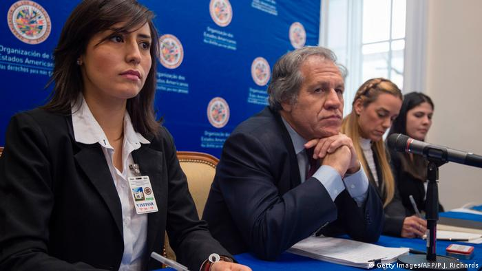 USA PK Luis Almagro OAS in Washington (Getty Images/AFP/P.J. Richards)