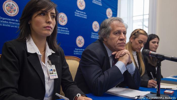USA PK Luis Almagro OAS in Washington