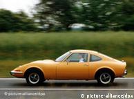 Opel GT, un clásico construido desde 1968 hasta 1973.