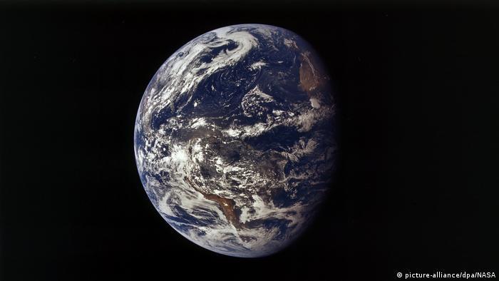 Erdkugel: Der blaue Planet (picture-alliance/dpa/NASA)