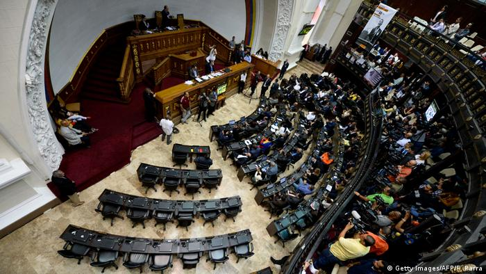 Venezuela Parlament Debatte OAS (Getty Images/AFP/F. Parra)ЉЊ