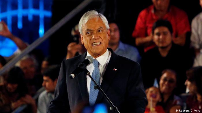 Chile Wahlkampf Sebastián Piñera (Reuters/C. Vera)