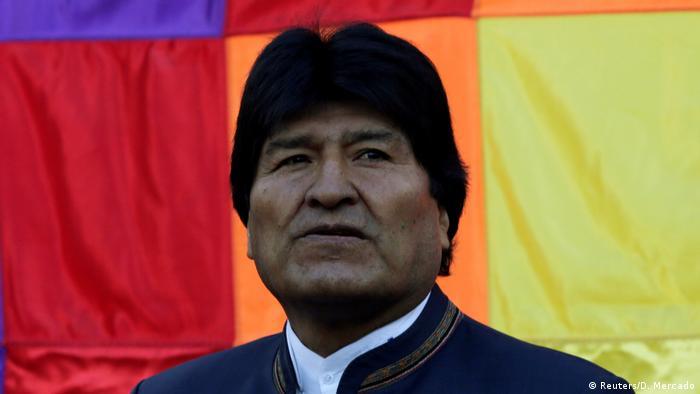 Bolivien Evo Morales (Reuters/D. Mercado)