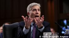 Washington Senatsanhörung Neil Gorsuch Supreme-Court Richter