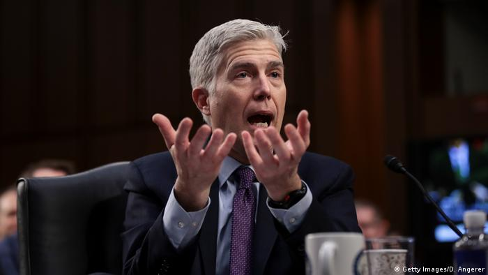 Washington Senatsanhörung Neil Gorsuch Supreme-Court Richter (Getty Images/D. Angerer)