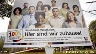 A billboard in North Rhine-Westphalia