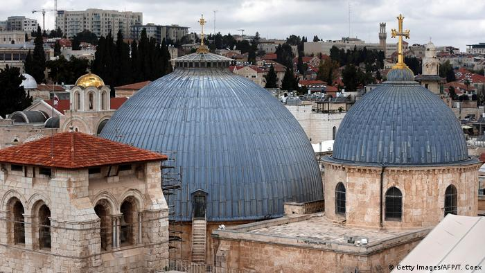 Church of the Holy Sepulchre from outside (Getty Images/AFP/T. Coex)