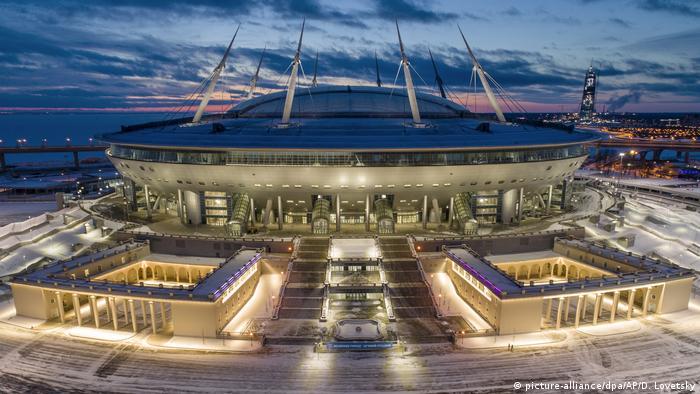Зенит-Арена в Санкт-Петербурге