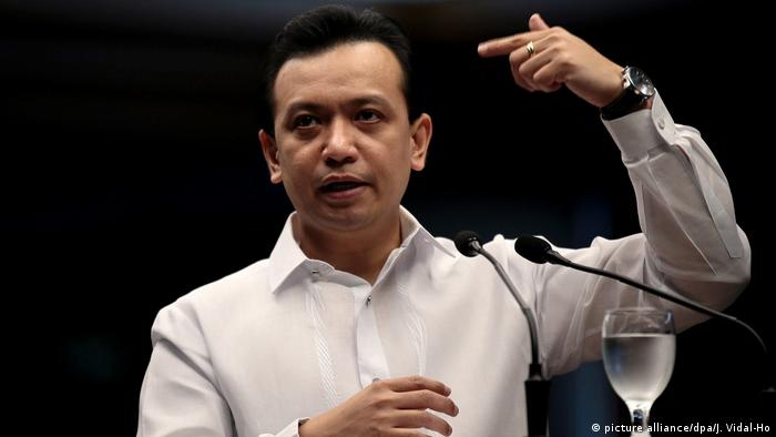 Philippinen Senator Antonio Trillanes (picture alliance/dpa/J. Vidal-Ho)