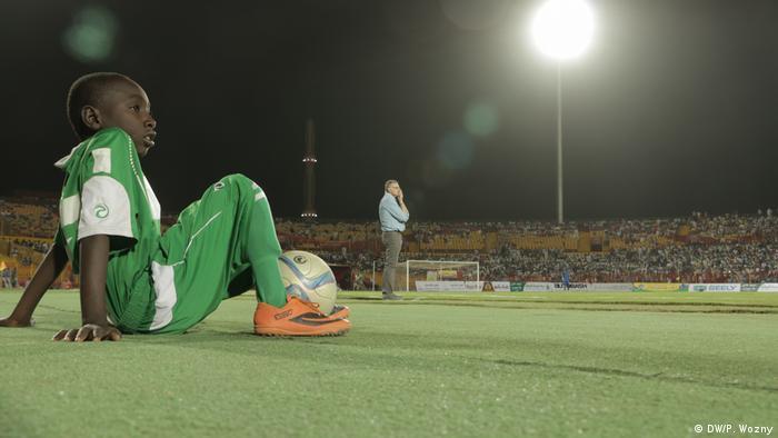 Sudan - Deutscher Fussballbotschafter (DW/P. Wozny)