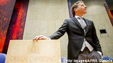 Niederlande Parlament Jeroen Dijsselbloem Finanzminister