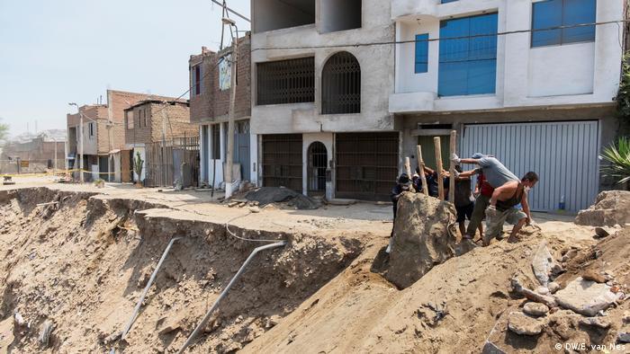 Peru   katasrophale Verhältnisse in Lima