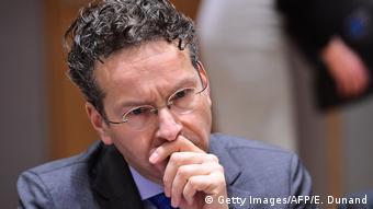 Το ελληνικό ζήτημα συζήτησαν Ντάισελμπλουμ και Λεμέρ στο Παρίσι (Getty Images/AFP/E. Dunand)