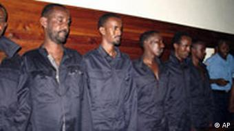 Suspected Somali pirates appear in court in Mombasa