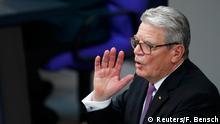 Berlin Zeremonie Vereidigung Steinmeier Abschiedrede Gauck