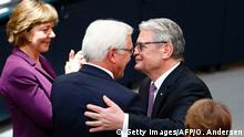 Berlin Zeremonie Vereidigung Steinmeier Abschied Gauck