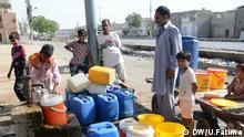 Welt-Wasser-Tag Pakistan Karachi
