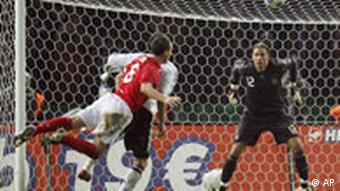 England's John Terry, front left, scores his side's second goal past Germany's goalkeeper Tim Wiese